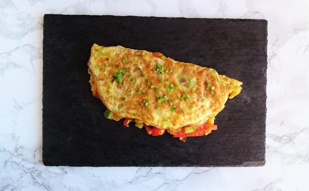 Ratatouille omelet