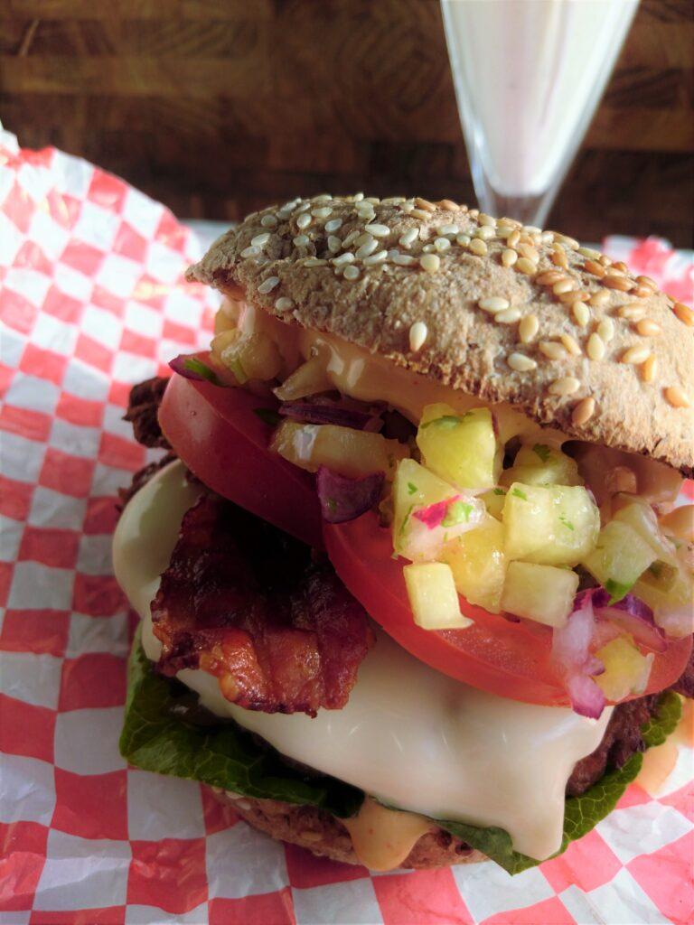 "Big Kahuna burger fra ""Pulp Fiction"""