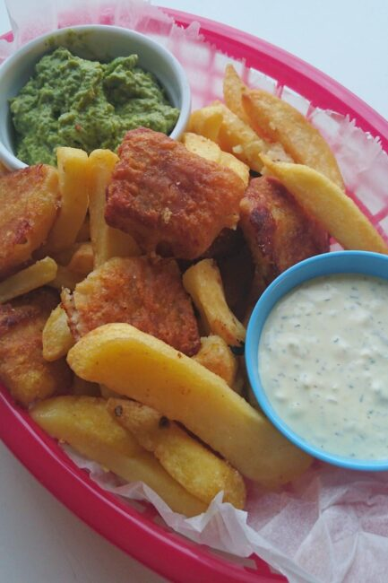 Fish 'n' chips fra Find Nemo