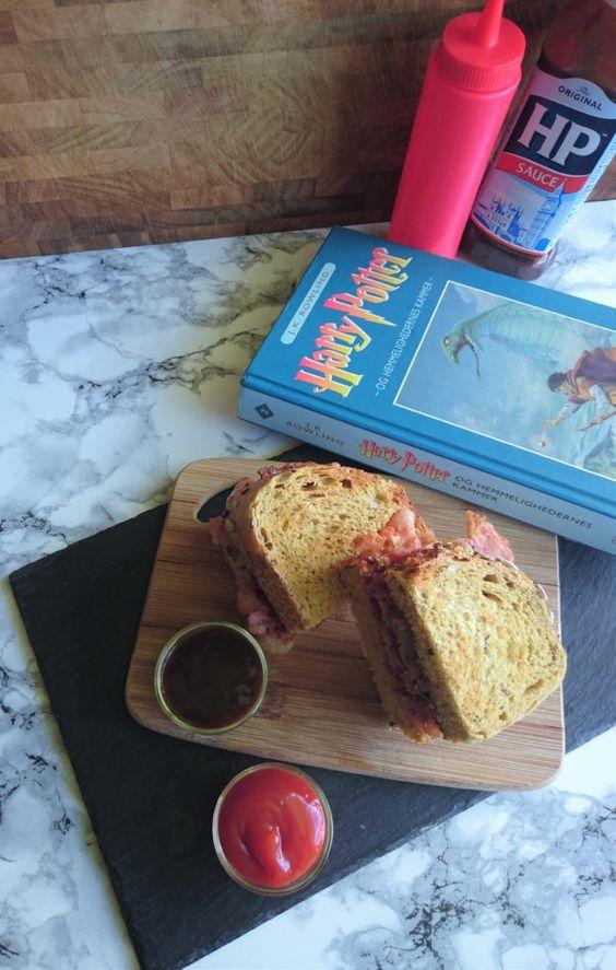 Fru Weasley's magiske bacon sandwich