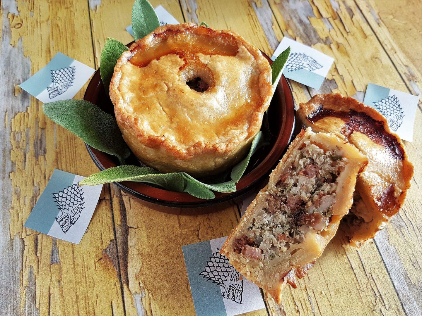 Hot Pies tærter med brunet smør