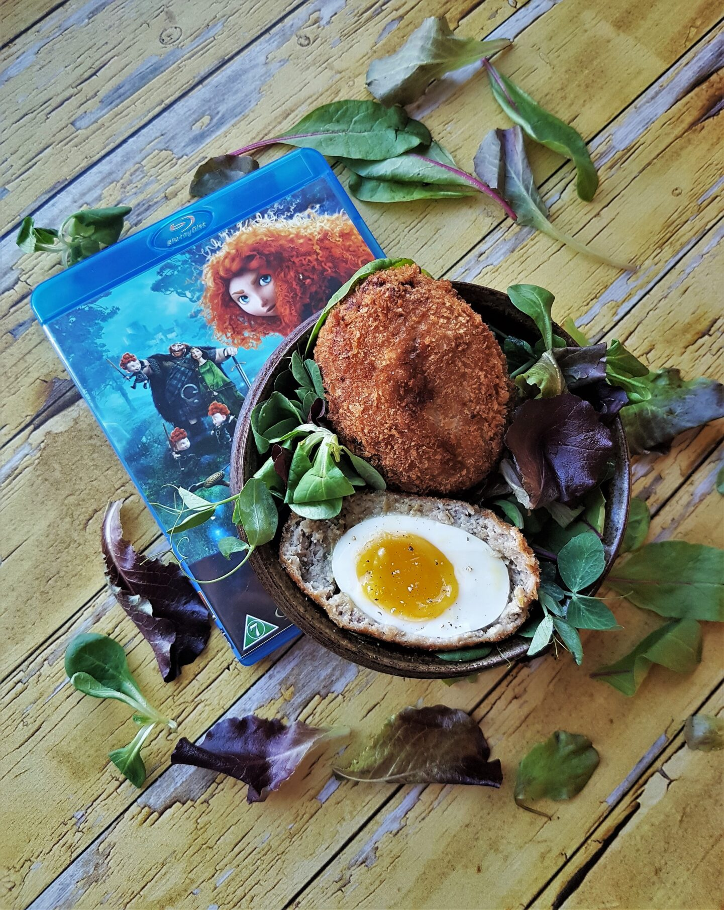 Meridas skotske æg
