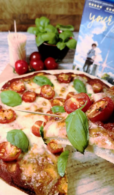 Pizza Margherita fra Kimi No Na Wa