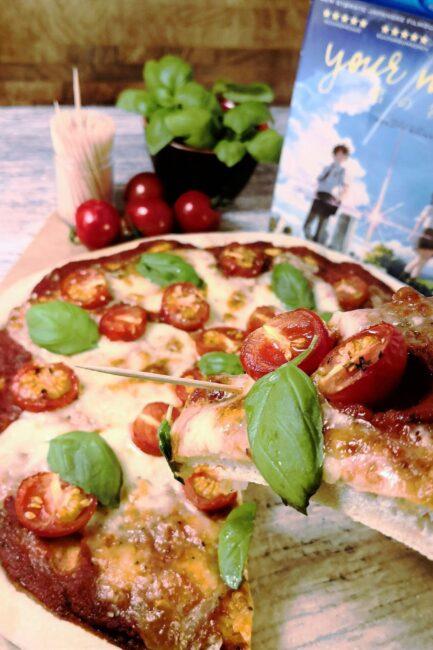 Pizza Margherita fra Kimi No Na Wa