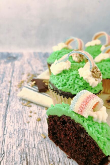 Saint Patrick's Dag cupcakes