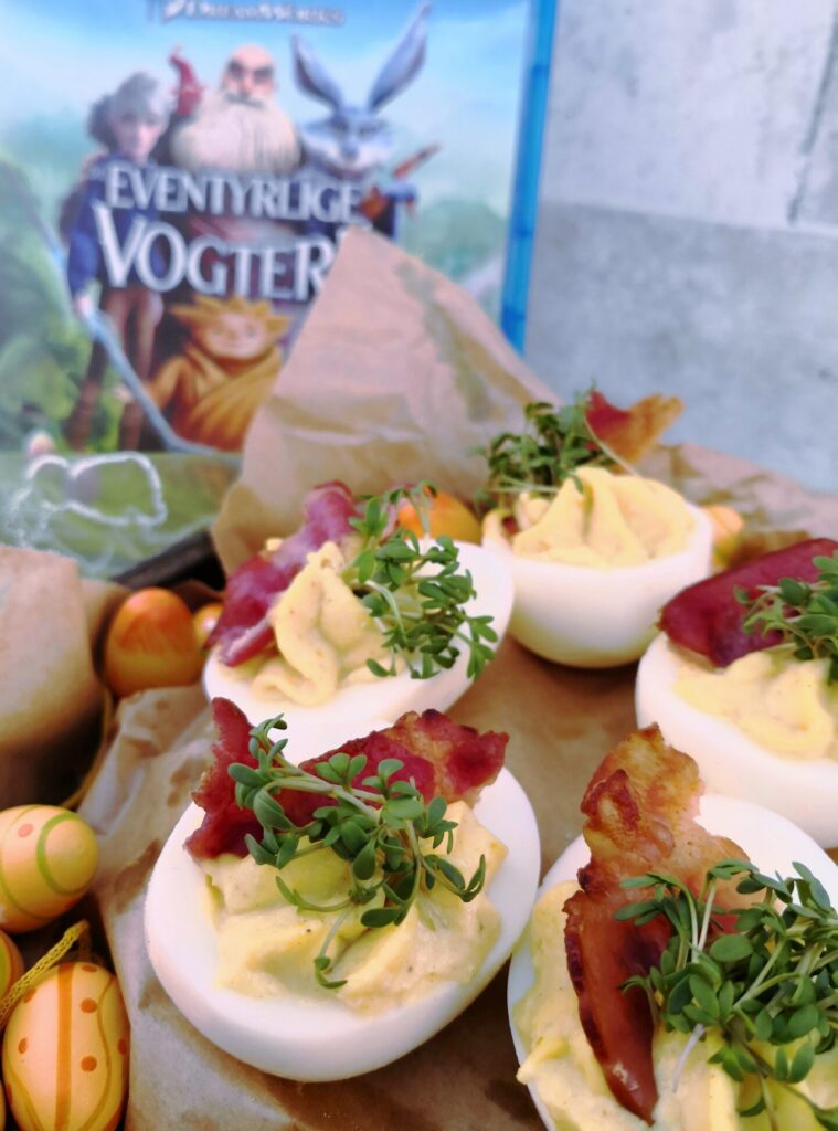 E. Aster Bunnymunds deviled eggs fra De Eventyrlige Vogtere