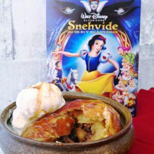 Brilles æble dumplings fra Snehvide og de syv små dværge