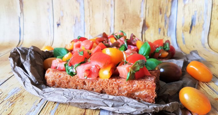 Den skønneste tomat bruschetta