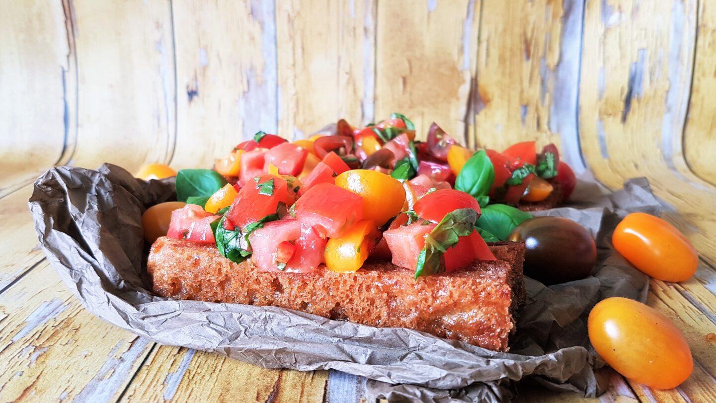 Prøv den skønneste tomat bruschetta