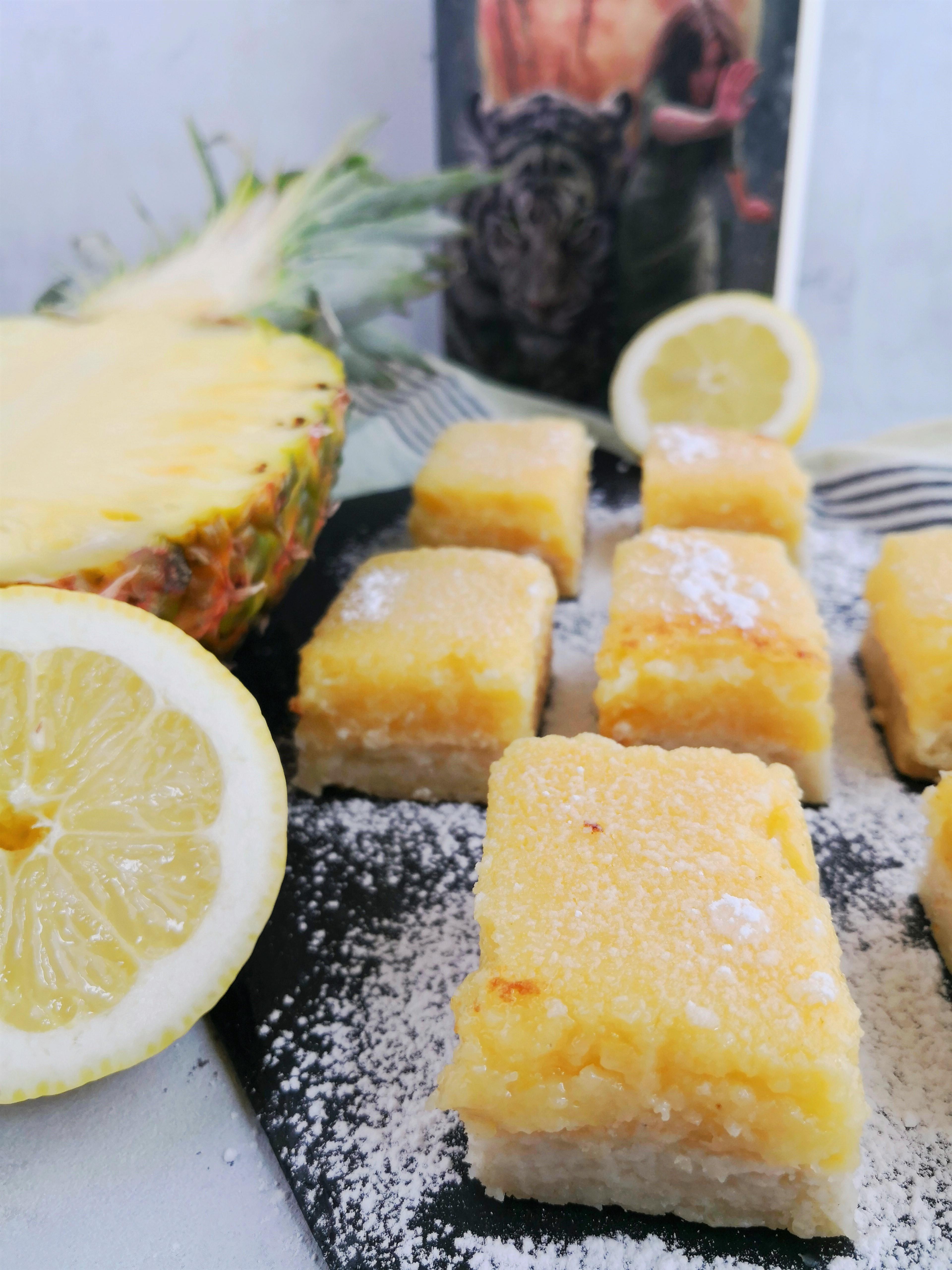 Trafallanske snitter med ananas fra Grænsen til Trafallas