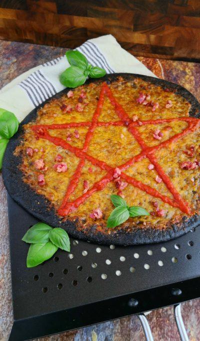 Dæmonisk hvidløgspizza