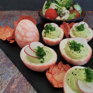 marmorerede æg