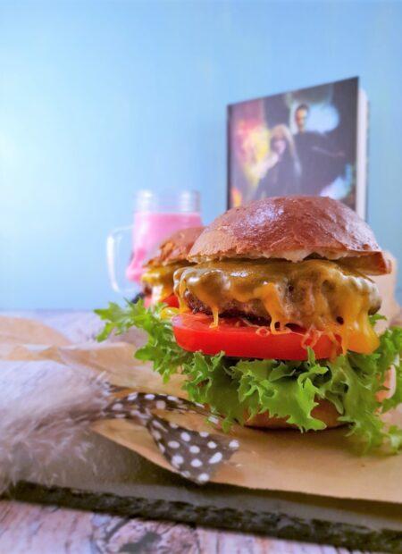 Klassisk cheeseburger