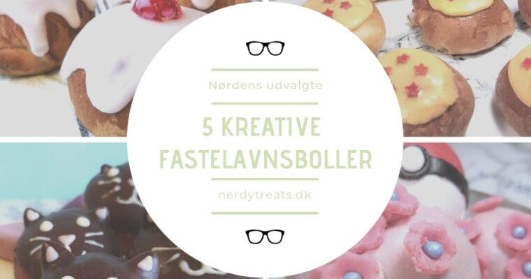 5 Kreative fastelavnsboller