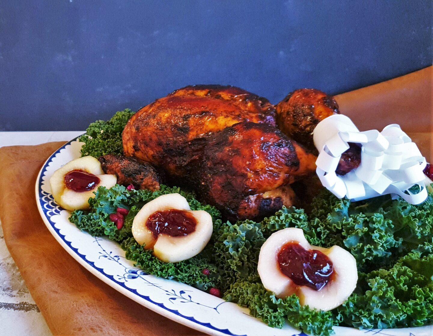 Gepettos kyllingesteg med kryddersmør