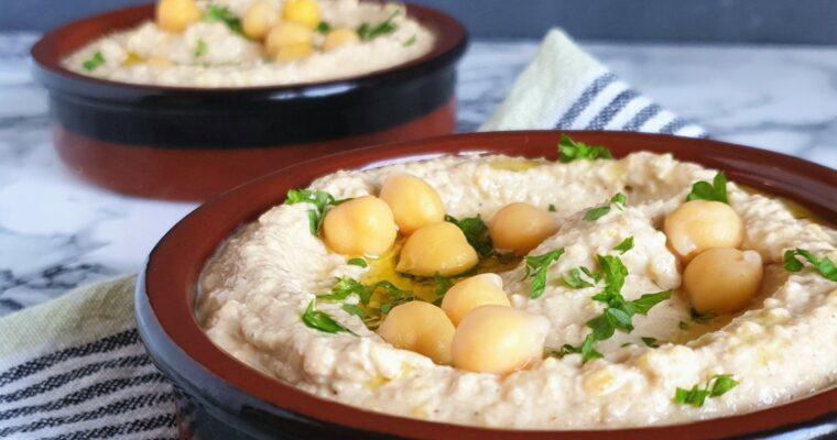 Zohans hummus med bagt hvidløg