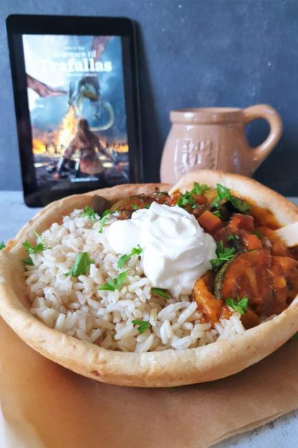 Vegetarisk curry fra Trafallans