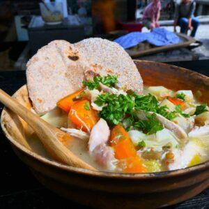 Flokes helbredende kyllingesuppe fra Vikings