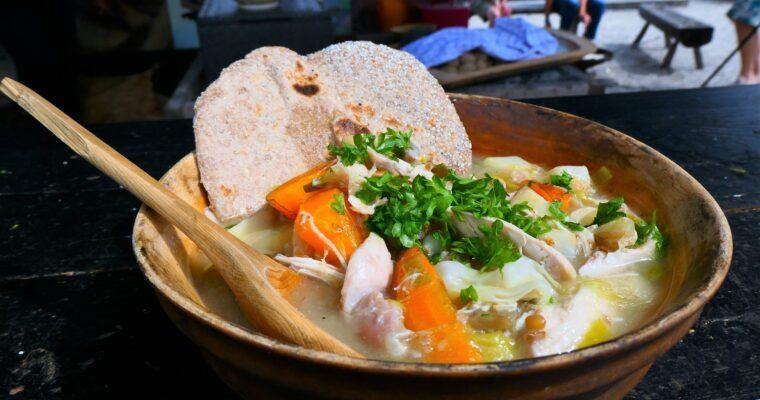 Flokes helbredende kyllingesuppe