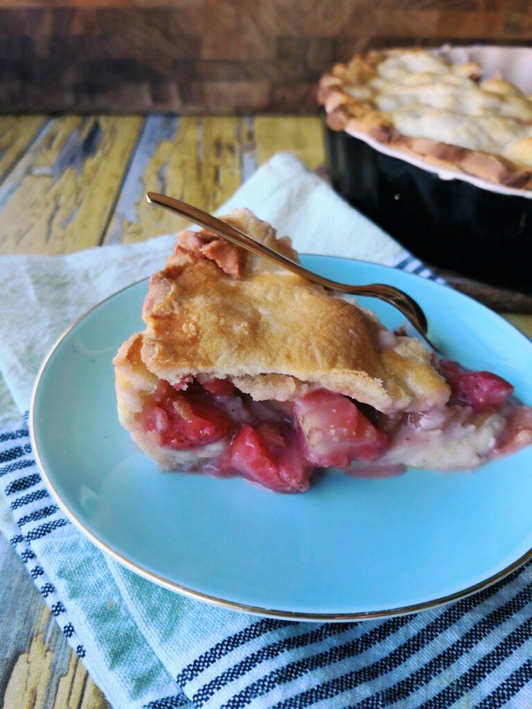 Jordbærtærte fra Slaraffenland