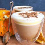 Jack Skellingtons pumpkin spice latte
