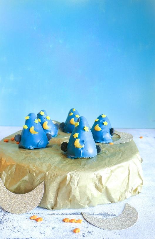 Mickeys troldmandshatte – cakepops med citron, vanilje og hvid chokolade