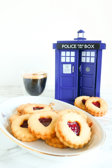 Jammie Dodgers fra Doctor Who