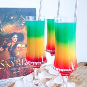 Regnbue cocktail