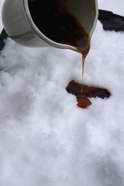 Sne karameller