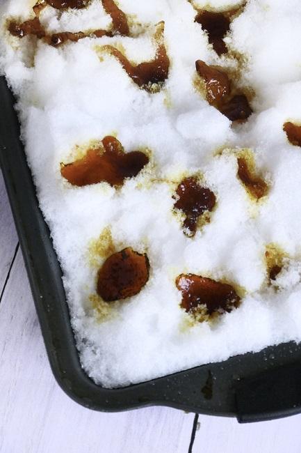 Sne karameller fra fra det lille hus på prærien