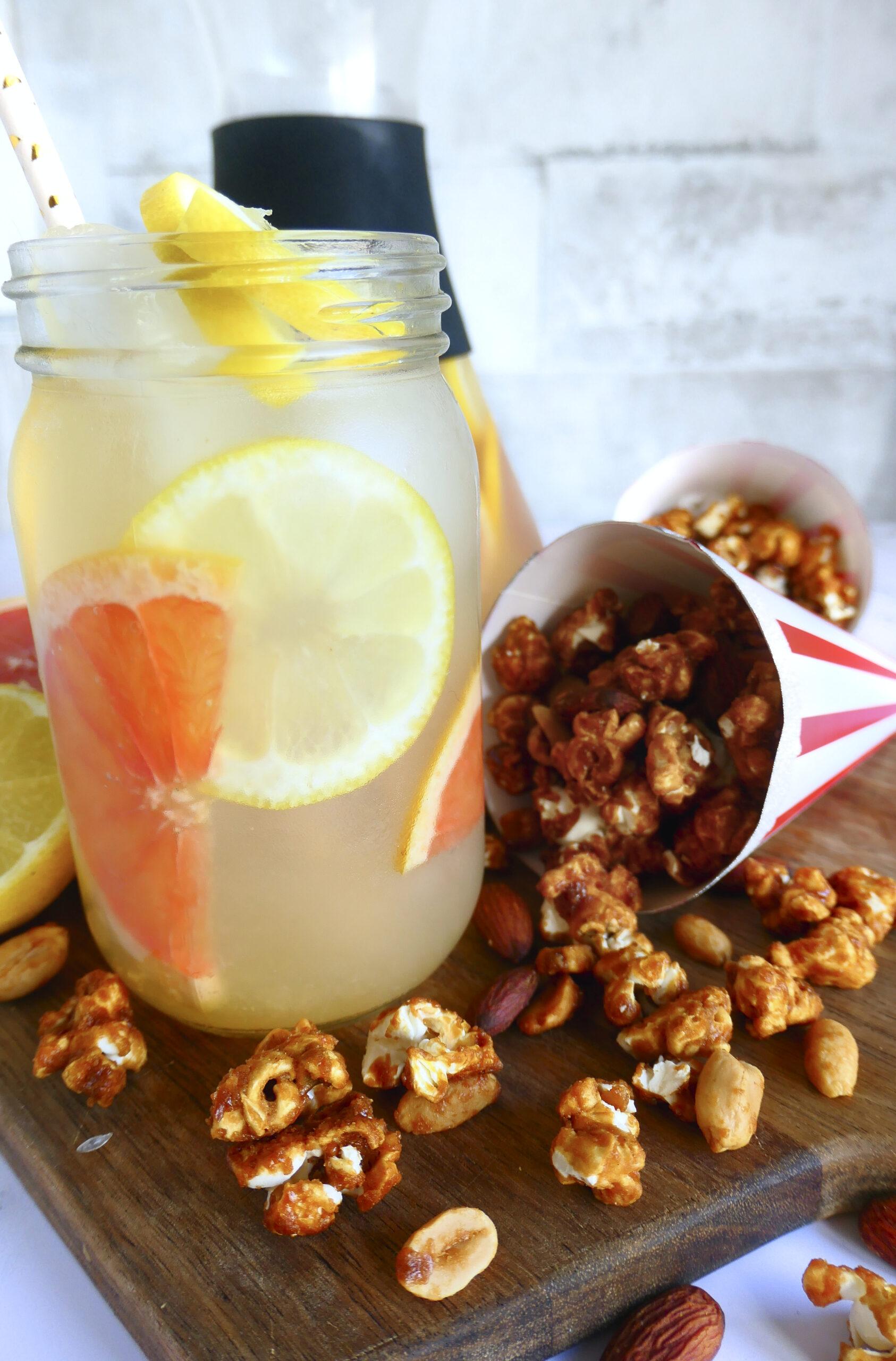 Lemonade og verdens bedste karamel popcorn