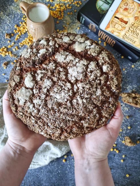 Trællebrød – en brødopskrift fra vikingetiden