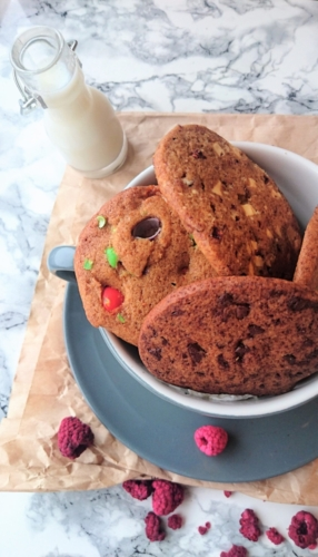 Cookie Monstrets cookie trio fra Sesame Street