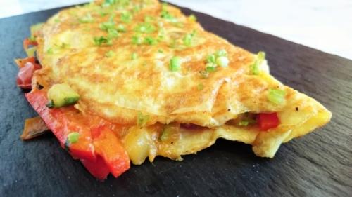 Ratatouille omelet fra Ratatouille