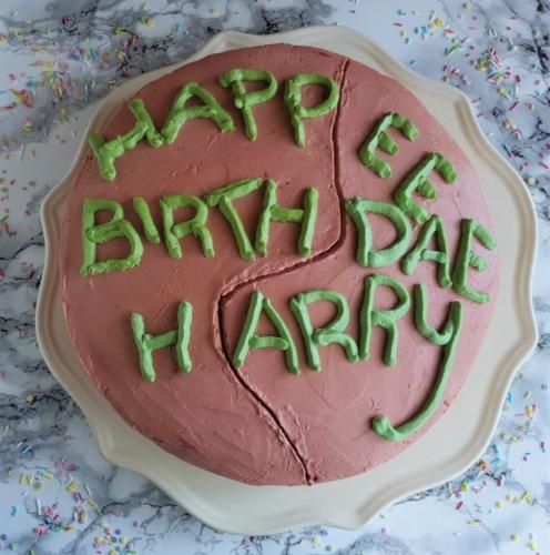 Hagrids chokoladekage fra Harry Potter og De Vises Sten